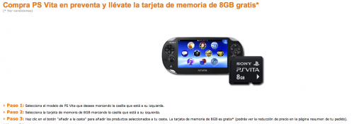 Reservar PS Vita en Amazon, mejor aún que en Media Markt