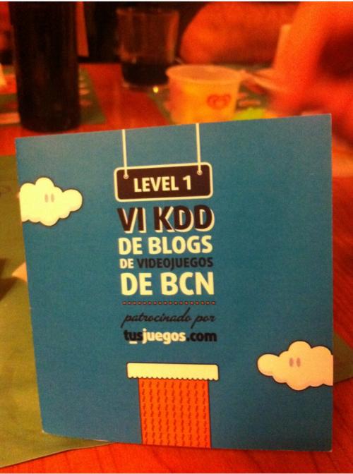 VI KDD Blogs de Videojuegos de BCN: ¡Gracias!