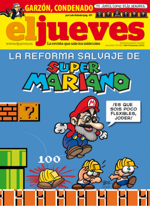 Super Mariano Bros vs La Crisis