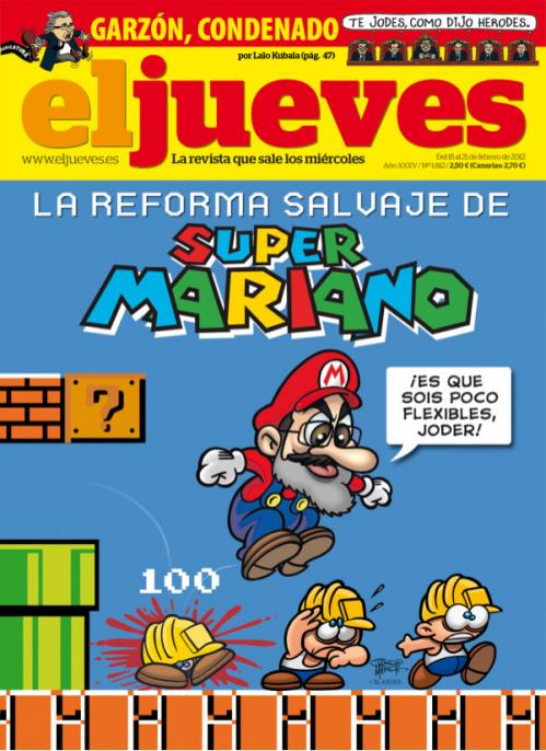 Super Mariano Bros vs La Crisis