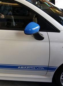 Probamos el coche oficial de PlayStation Vita, el Abarth 500