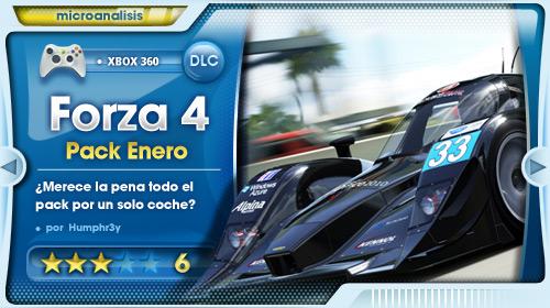 January Jalopnik Pack para Forza Motorsport 4 [Análisis Xbox 360]