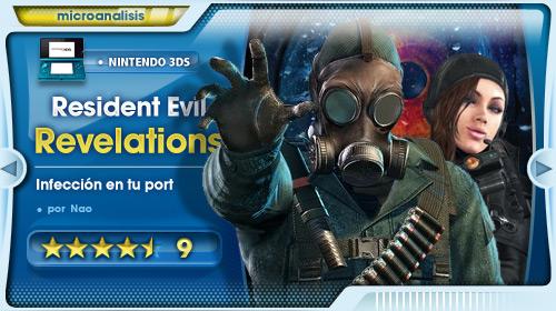 Resident Evil Revelations: Infección en tu portátil [Análisis Nintendo 3DS]