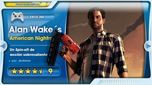 Un Spin-off de acción sobresaliente [Análisis Alan Wake´s American Nightmare para Xbox 360]