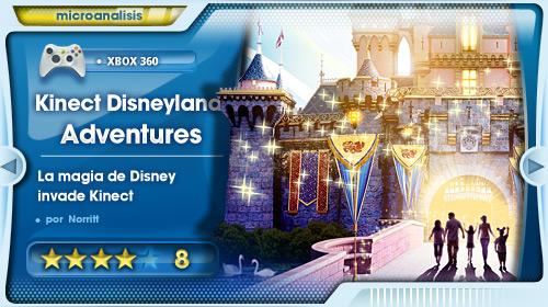 Análisis de Disneyland Adventures para Xbox 360 Kinect