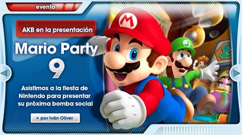Evento Mario Party 9