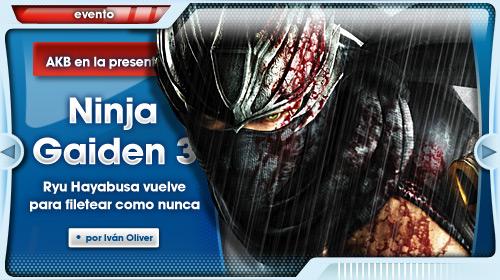 Yosuke Hayashi se trae su Ninja Gaiden 3 a Madrid