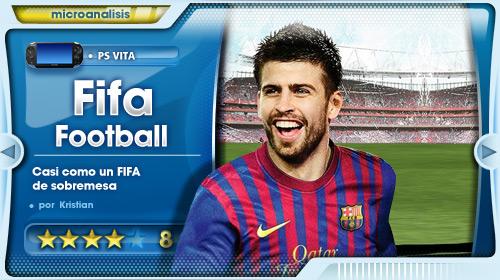 """""""Un juego de fútbol de sobremesa para la nueva portátil de Sony"""" [Análisis de FIFA para PS Vita]"""