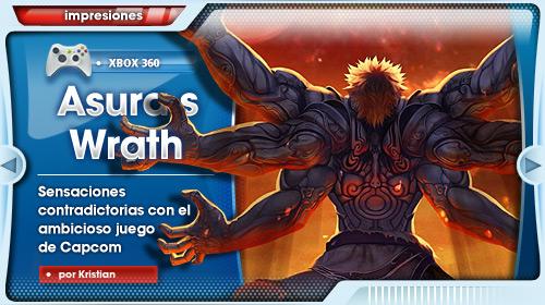 ¿El ICO de Capcom? [Impresiones con Asura's Wrath para Xbox 360]