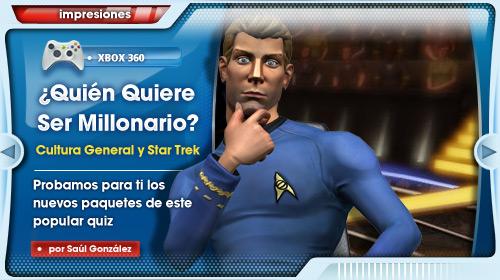 ¿Eres el más listo de la clase? [Impresiones de los paquetes de «Cultura General» y «Star Trek» para el juego «¿Quién Quiere Ser Millonario?»]