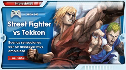 Impresiones con Street Fighter x Tekken para Xbox 360