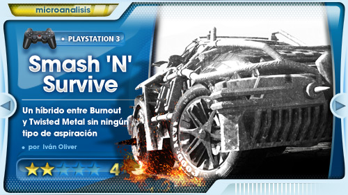Vehículos que no pasan la ITV [Análisis Smash 'N' Survive para PS3]