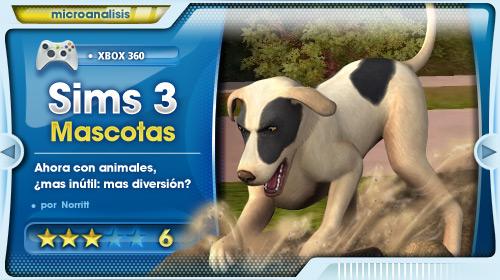 Análisis de Los Sims 3 ¡Vaya Fauna! para Xbox 360