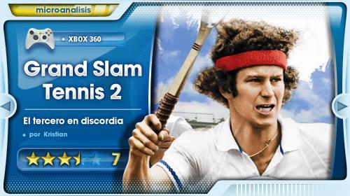 """El tercero en discordia "" [Análisis de Grand Slam Tennis 2 para Xbox 360]"
