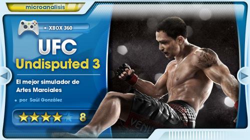 Los combates más reales que disputarás jamás en un videojuego [Análisis UFC Undisputed 3 para Xbox 360]