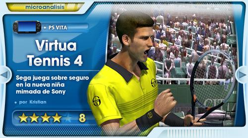 """Sega juega sobre seguro con una conversión perfecta"" [Análisis de Virtua Tennis 4 para PS Vita]"