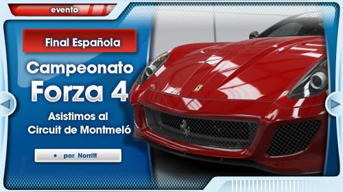Asistimos a la final del campeonato de Forza 4