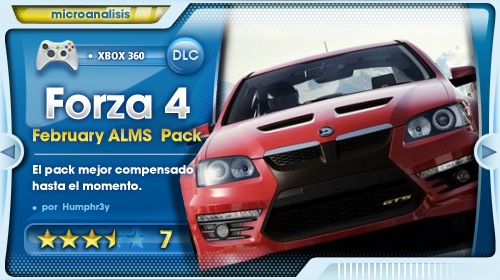 February ALMS Pack para Forza Motorsport 4 [Análisis Xbox 360]