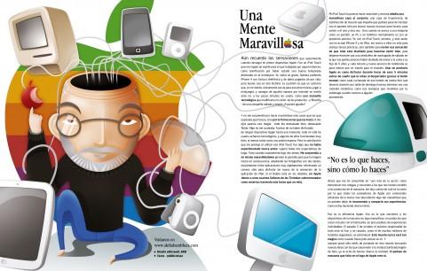 Una Mente Maravillosa, tributo de AKB a Steve Jobs en Marca Player