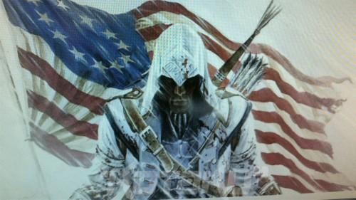 ¡TOMAHYPE! La primera imagen del protagonista de Assassins Creed 3 sale a la luz