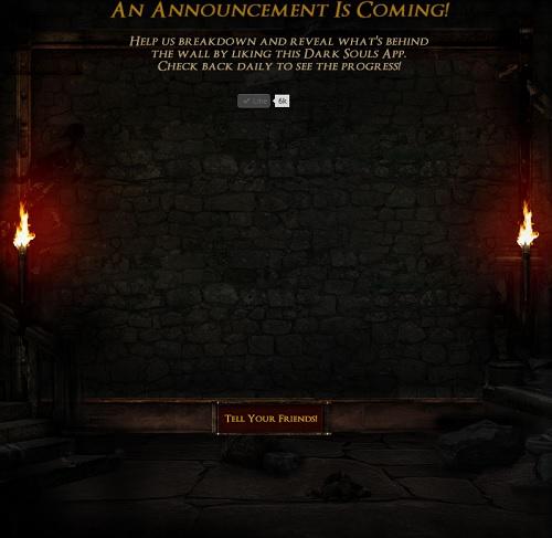 Dark Souls tiene un anuncio para ti. ¿Será su versión para PC?