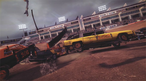 Dirt Showdown es el nuevo Destruction Derby