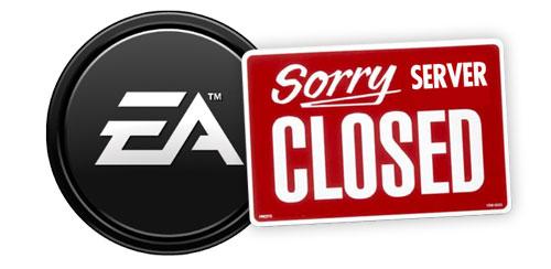 Otro cierre de servidores online. Esta vez, Electronic Arts