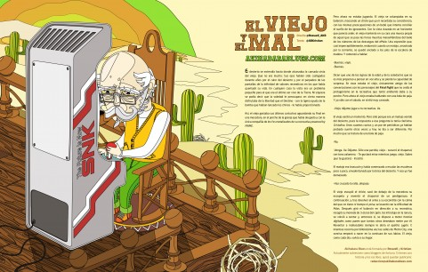 «El Viejo y el Mal», un relato de AKB para Marca Player