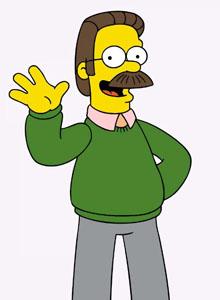 Ned Flanders también es gamer
