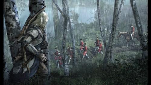 Será mejor que vayas afilando el tomahawk. Más imágenes de Assassins Creed 3