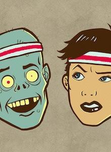 Si necesitas una excusa para correr… ¿Qué te parece huir de los zombies?