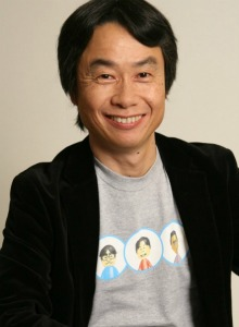 Miyamoto se deja la piel en el Wii U Gamepad