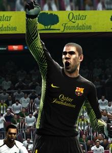 Valdés se siente protagonista en PES 2013
