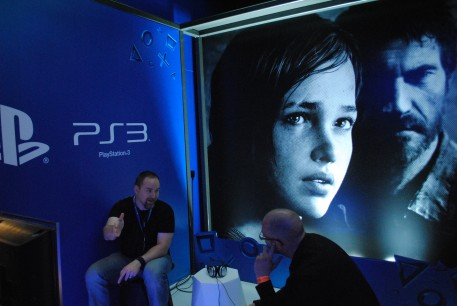 The Last of Us en el Stand de Sony