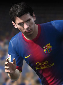 Toma FIFA 13, toma Messi y toma tema del soundtrack