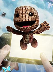 Los sackboys al rescate de PlayStation Vita
