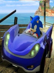 Disfruta de una nueva experiencia con Sonic Racing