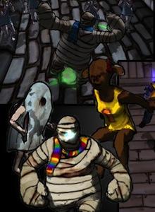 Dreadline, el Monster High para jugones que busca fortuna en Kickstarter