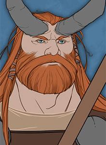 Los vikingos pelean gratis en The Banner Saga: Factions