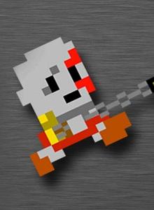 Kratos es mejor en 8-bits
