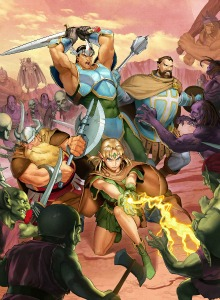 Prepara el D20: Tráiler del guerrero de D&D Chronicles of Mystara