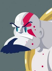 Psycho Kratos, por Roswell