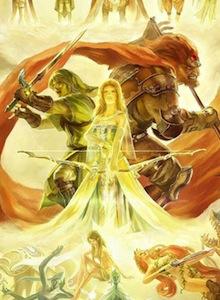 Increíble ilustración inspirada en el Mundo de Zelda