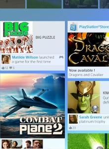 Unas cuantas imágenes de la interfaz de PS4
