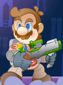 El corto animado Super Mario Busters es una genialidad