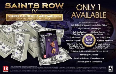 Esto es de lujo: Saints Row IV de 1 millón de dólares