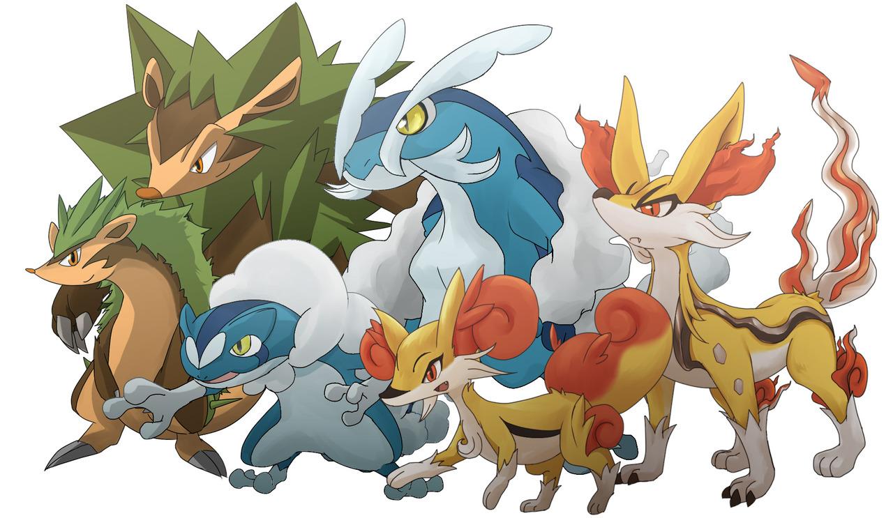 pokemon x y capitulo 3 4 sub español