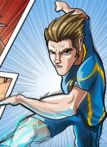 Soccer Legends mezcla fútbol cartoon, juegos de mesa y RPG