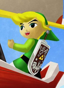 Gameplay de Zelda: Wind Waker HD para Wii U