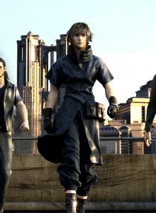 El evento de lanzamiento de Final Fantasy XV con Afrojack. Nada puede salir mal.